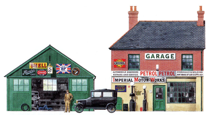 Landowner Garage In A Box : British land educational broadsheet transport contents