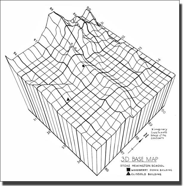 3d computer drawn base map