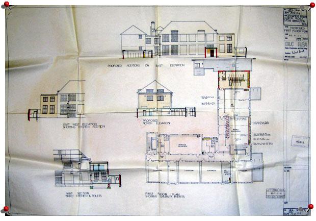 Primary School Plan Elevation : The history of grasmere primary school site