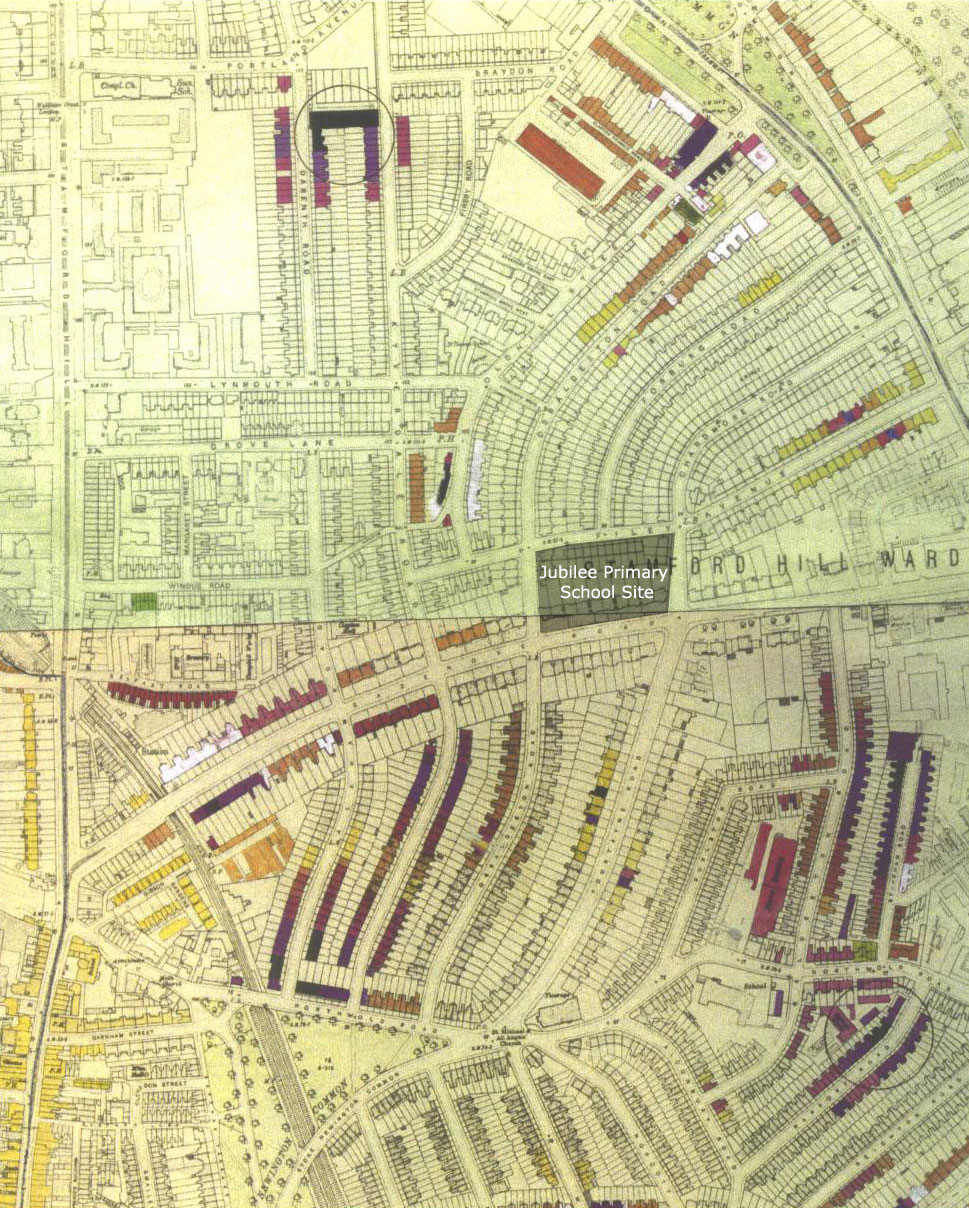 The London County Council Bomb Damage Maps - London map 1945